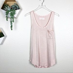 Anthropologie | Pure + Good pink tank top